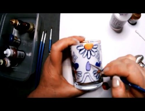 WOYUing (Pack 13) – Glass Painting with Mixed Media Artist Mel Berman